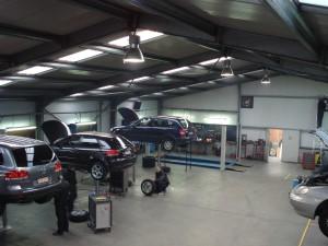 Atelier waar Herstellingen en Onderhoud gebeuren